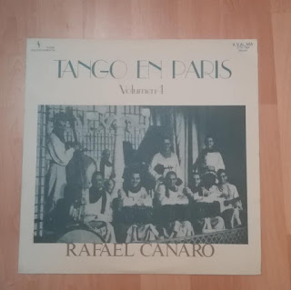LP CTA-1004, Rafael Canaro, Tango en Paris, Volume 4, Vinyl-Collection, DJ Stefan OK (Cover-Front)
