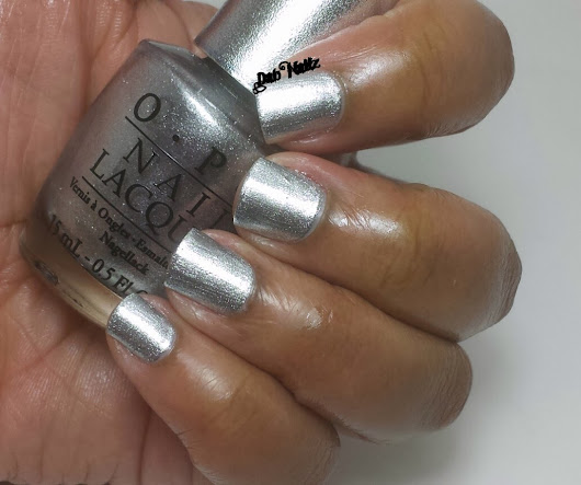 OPI DS Radiace and DS Pewter Swatch and Review