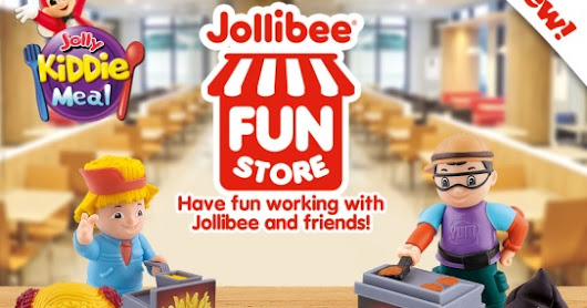 Jollibee Fun Store Toys Lets Kids Get a Feel of Working at Jollibee