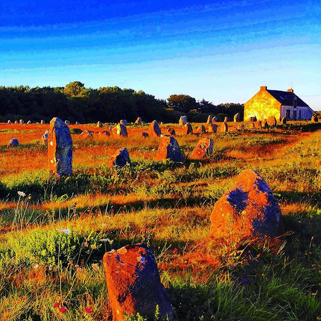 An Evening in Carnac,Standing Stones in Brittany I France I Trevelling Hopper 2016 I