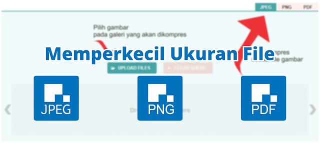 Cara Memperkecil Size Gambar atau File (JPEG,PNG,PDF) Tanpa Aplikasi