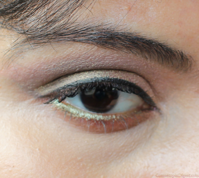 Makeup Geek Duochrome Eyeshadow Ritzy: Eye Makeup Look