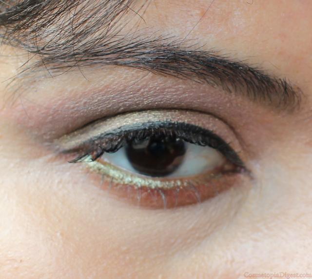 Makeup Geek Duochrome Eyeshadow Ritzy: Eye Makeup Look