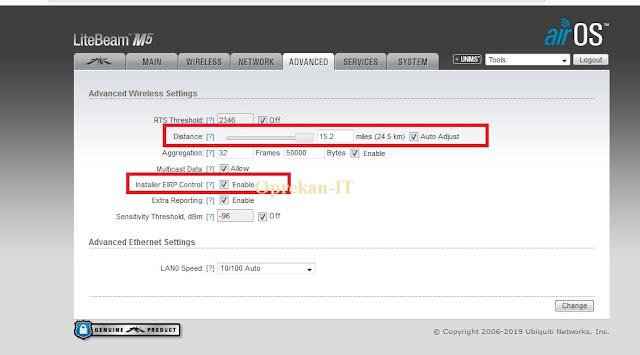 UBNT Untuk Menembak Jaringan Wifi.id