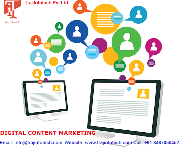 The Importance of Content Marketing Strategy while marketing your products and services -Traj-Infotech