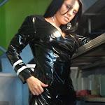 Andrea Rincon, Selena Spice Galeria 5 : Vestido De Latex Negro Foto 122