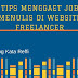 Tips Menggaet Job Menulis di Website Freelancer