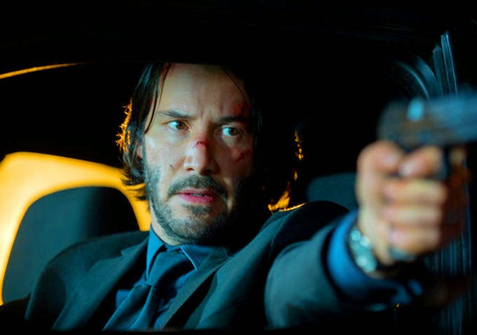 Keanu Reeves John Wick action movie 2014