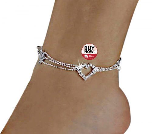 7e462c97 #centarsko #girl #design #female #fashon #accessories #foot #lovely #anklet  #bohobeads #bracelets #beach #heart #model #barefoot #sandals #anklets