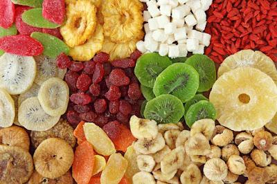 الفواكه المجففة مصدر صحي للطاقة