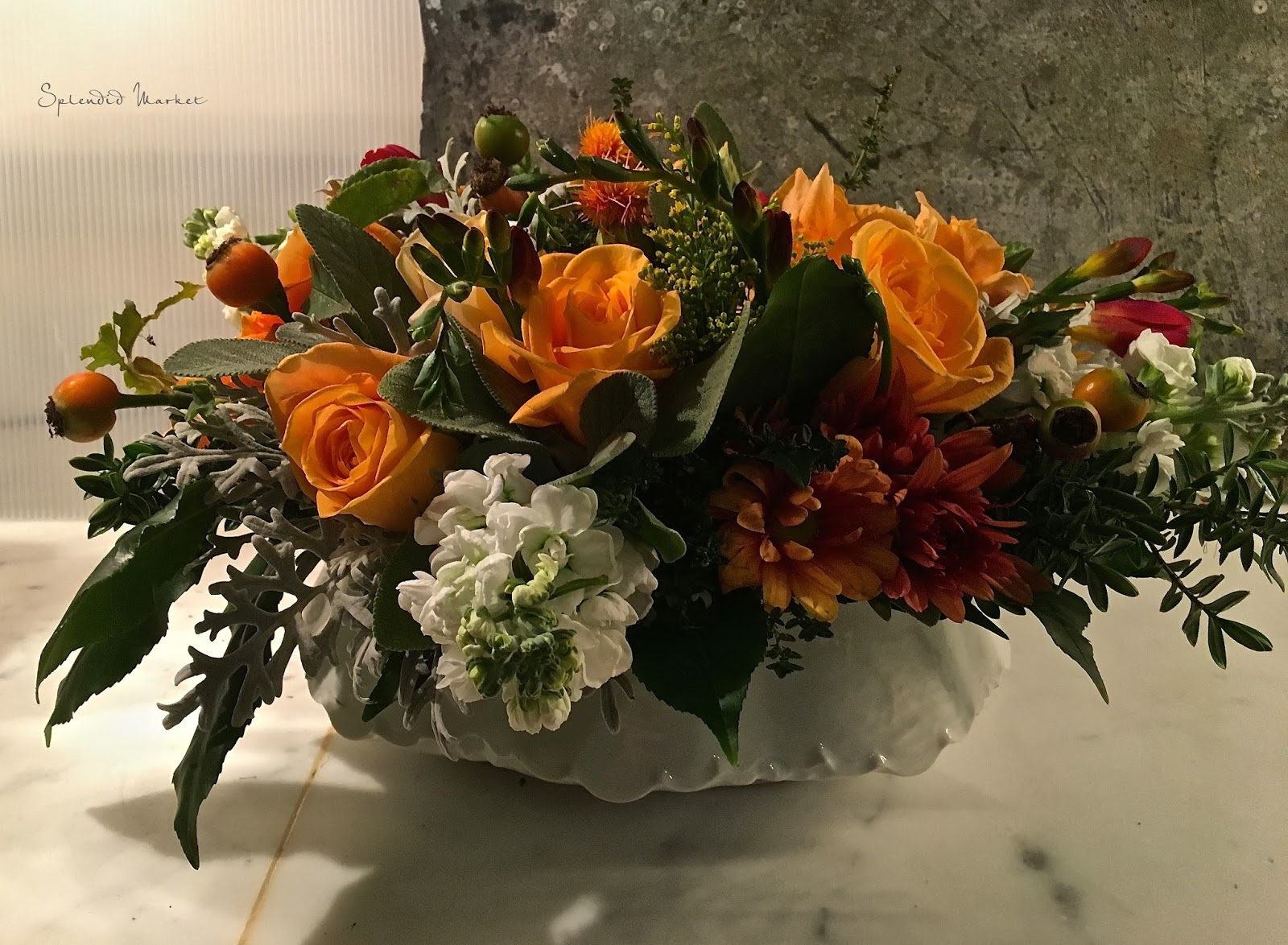 Happy Thanksgiving & some floral inspiration…