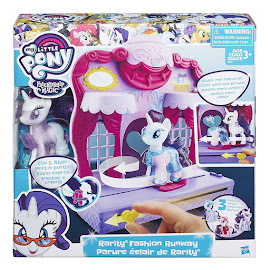 MLP Runway Fashion Playset Rarity Brushable Pony