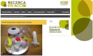 http://www.recercaenaccio.cat/experimenta/experiments-casolans-per-a-nens-i-per-a-tothom/