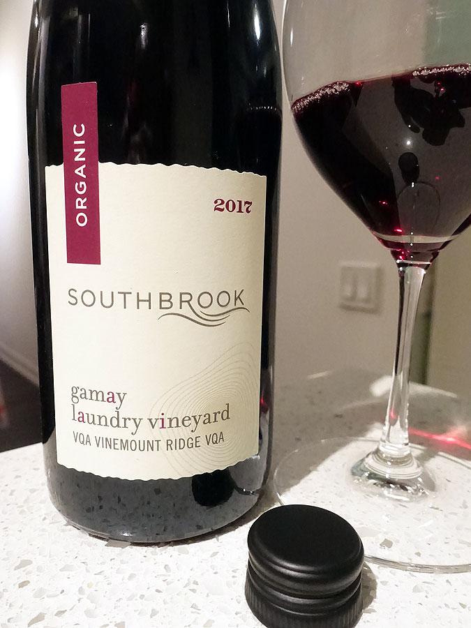 Southbrook Laundry Vineyard Gamay 2017 (90 pts)
