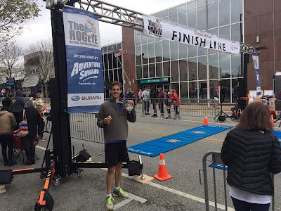 Derick Dillard marathon