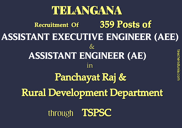 Assistant-Executive-Engineer-and-Assistant-Engineer-in-Panchayat-Raj-and-Rural-Development-Dept-through-TSPSC