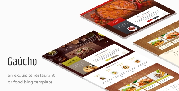 Download Gaucho - Food & Restaurant WP Theme