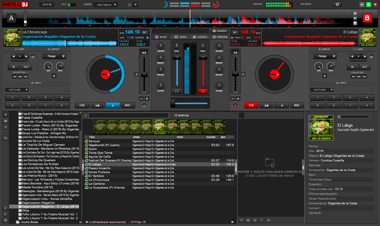 Virtual dj pro v6.1.2and crack degun
