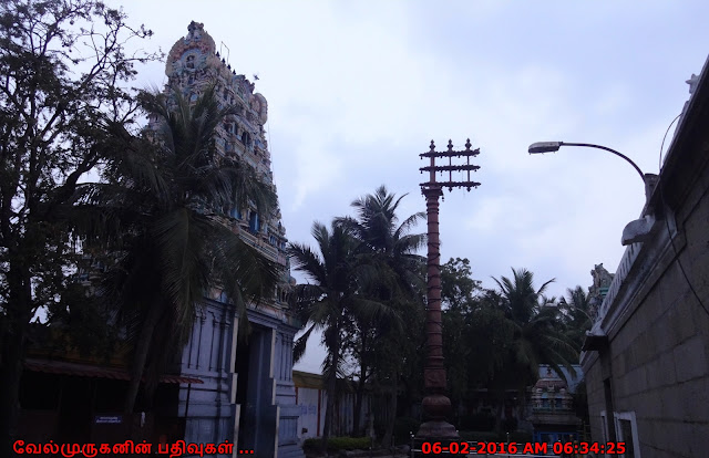 Thiruvanmiyur Siva Temple