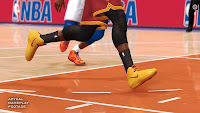 NBA Live 14 Yellow Shoes Cavs