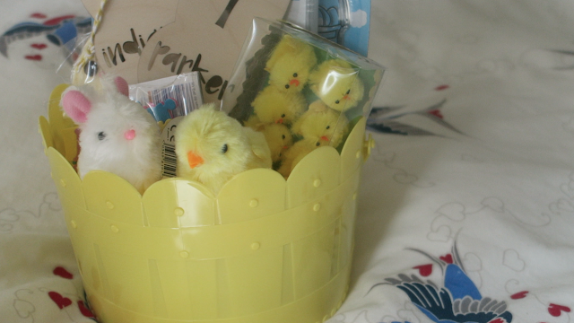 Easter basket ideas for toddlers preschoolers emily and indiana my two are 3 and 20 months so still not old enough to fully embrace easter but were going to give it a good go most of the items i picked up negle Image collections