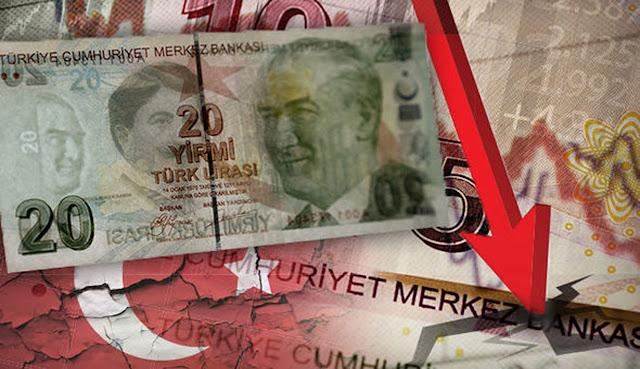 Το χρέος (127%) πνίγει την Τουρκία και την Ισλαμική οικονομία