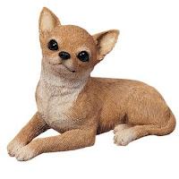 Sandicast Fawn Chihuahua Figurine Statue