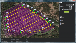 GPS surveying instrument receives signals from GPS satellites