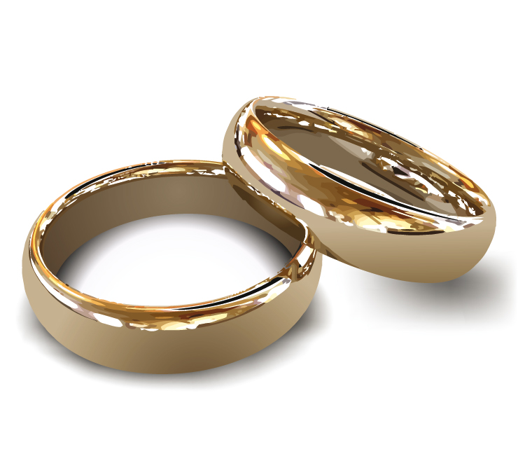 Wedding Rings Gold Sets 009 - Wedding Rings Gold Sets