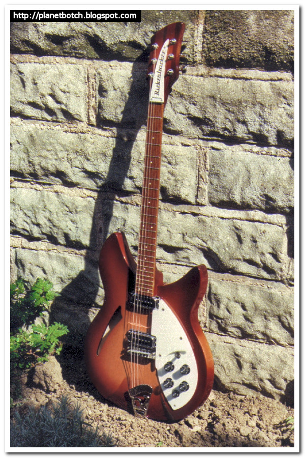 1987 Rickenbacker 330 fireglo