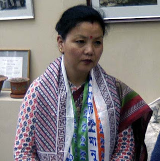 Sharda Subba Rai, who was the Darjeeling Trinamul candidate