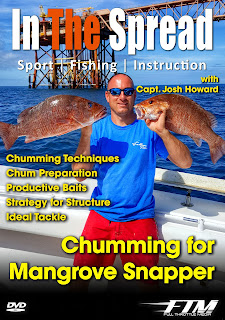in the spread chumming for mangrove snapper josh howard