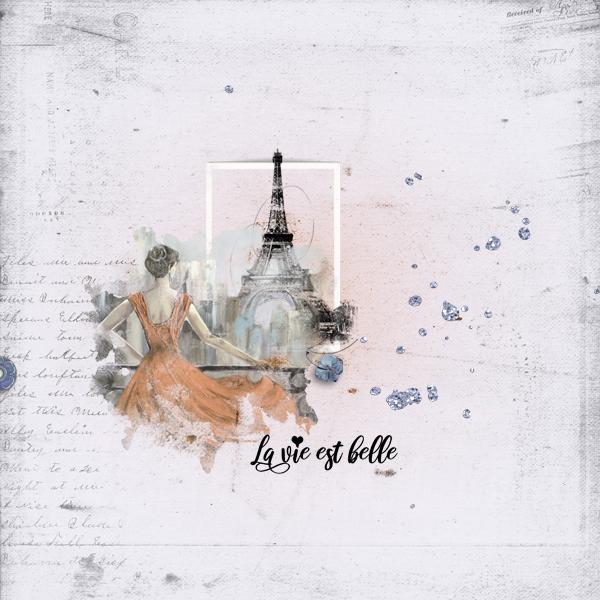 la vie est belle © sylvia • sro 2019 • bonjour paris by synergy ink
