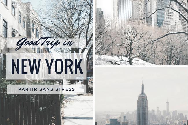 New York partir sans stress