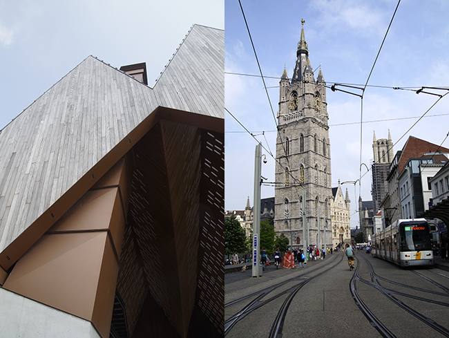 Ynas Design Blog | Unterwegs in Gent | Belfried + Stadthalle