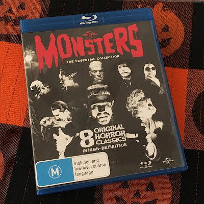 collection of Universal classic monster movies