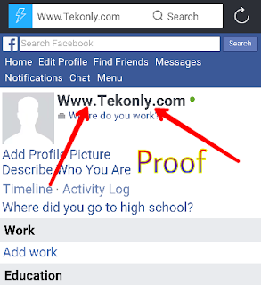 How To Make Website Name Id On Facebook 2017-2018