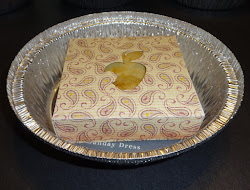 Mini Pie box for invitation