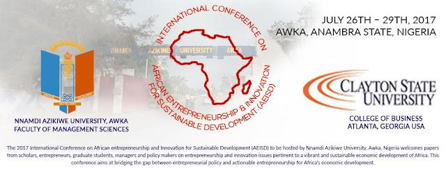 UNIZIK Announces 2017 AEISD Conference