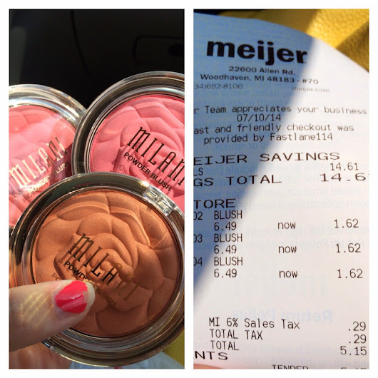 Milani Rose Powder Blushes - $1.62 at your local Meijer!