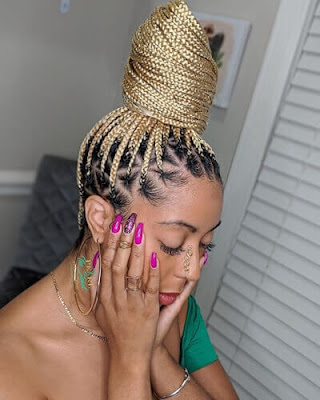 Women of interest are known to provide the spirit of creativity 23 Medium Knotless Braids Hairstyles With Ways To Rock in 2020