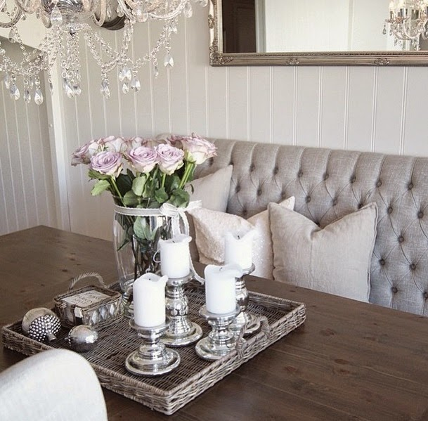 Gentil Dazzling Glam Decorating Ideas For Your Home Dining Room Decor