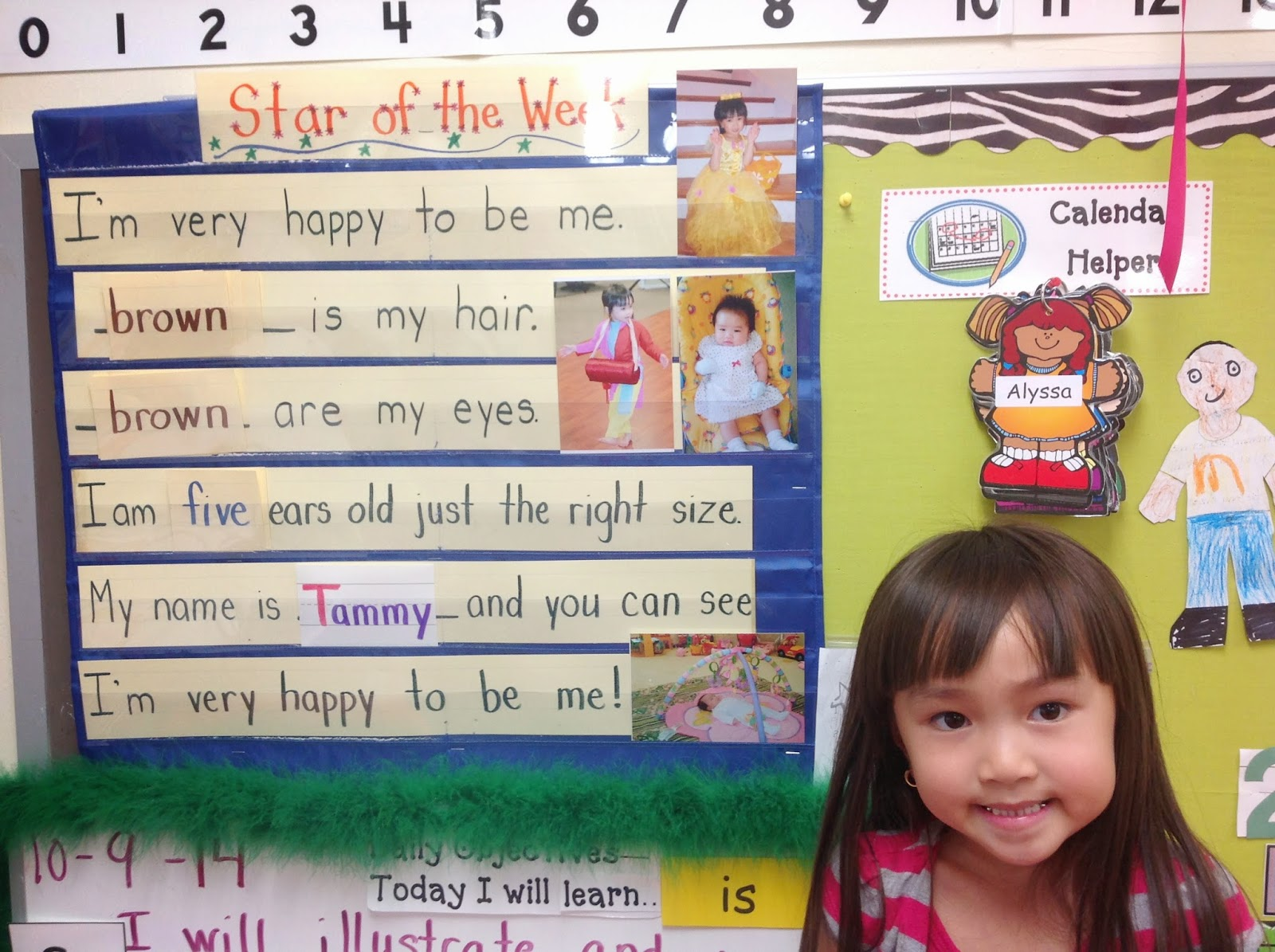 The Kindergarten Way Of Life Star Of The Week Story Re