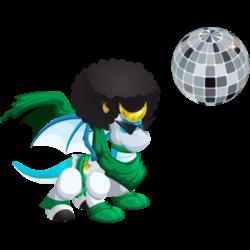 Dragon Ninja Disco apparence jeune