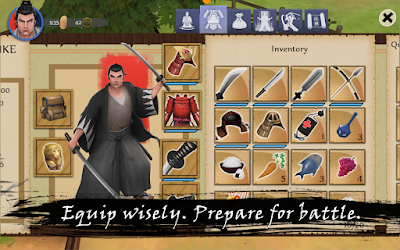 Bushido Saga Mod v1.1.0 Apk Data for Android Unlimited Money