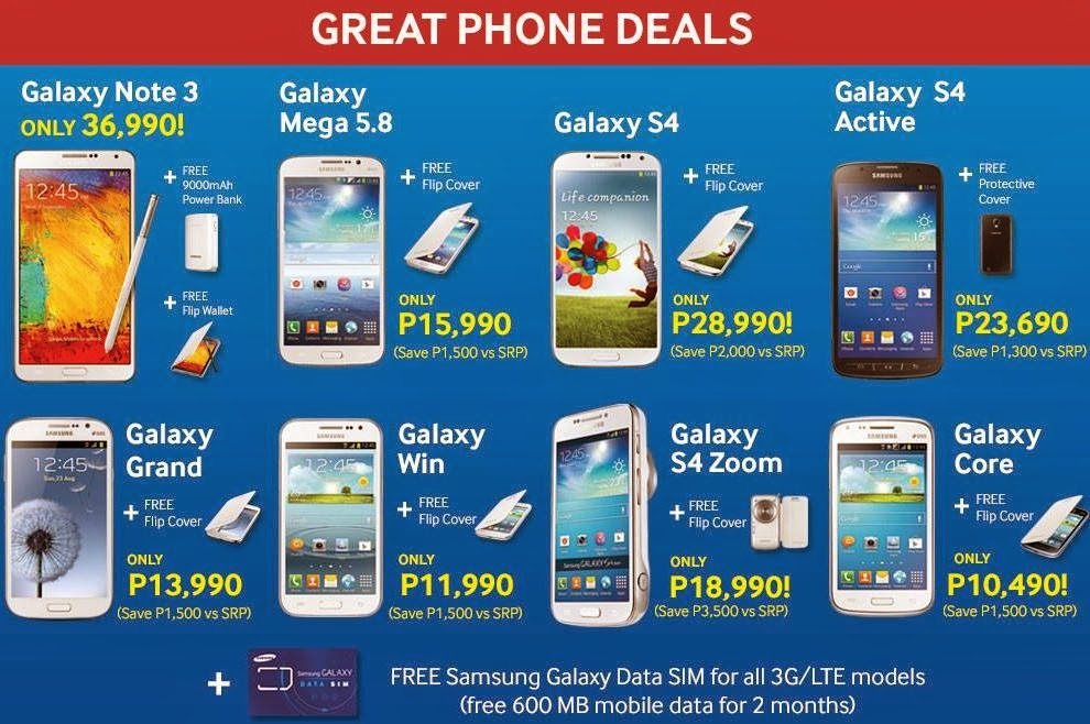 samsung galaxy valentines sale and price drop promo 2014 gbsb techblog your daily pinoy. Black Bedroom Furniture Sets. Home Design Ideas