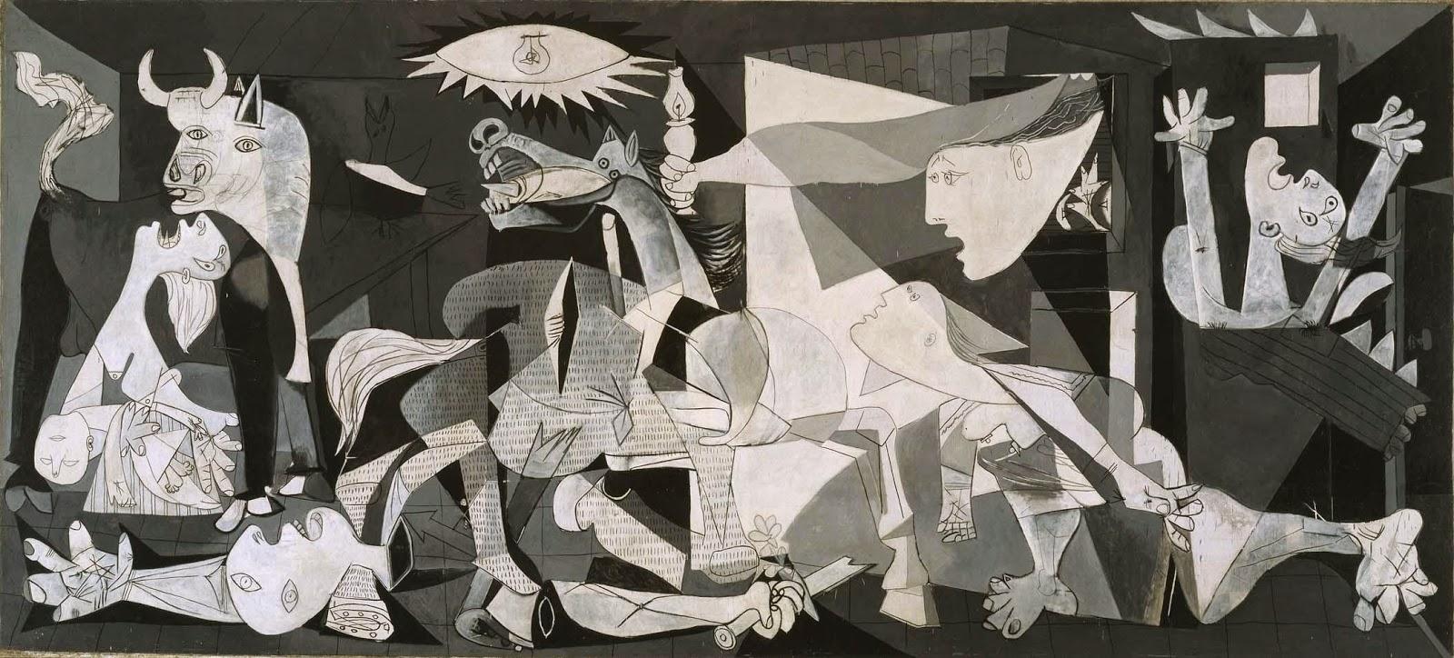 Guernica - Picasso e suas pinturas ~ O maior expoente da Arte Moderna