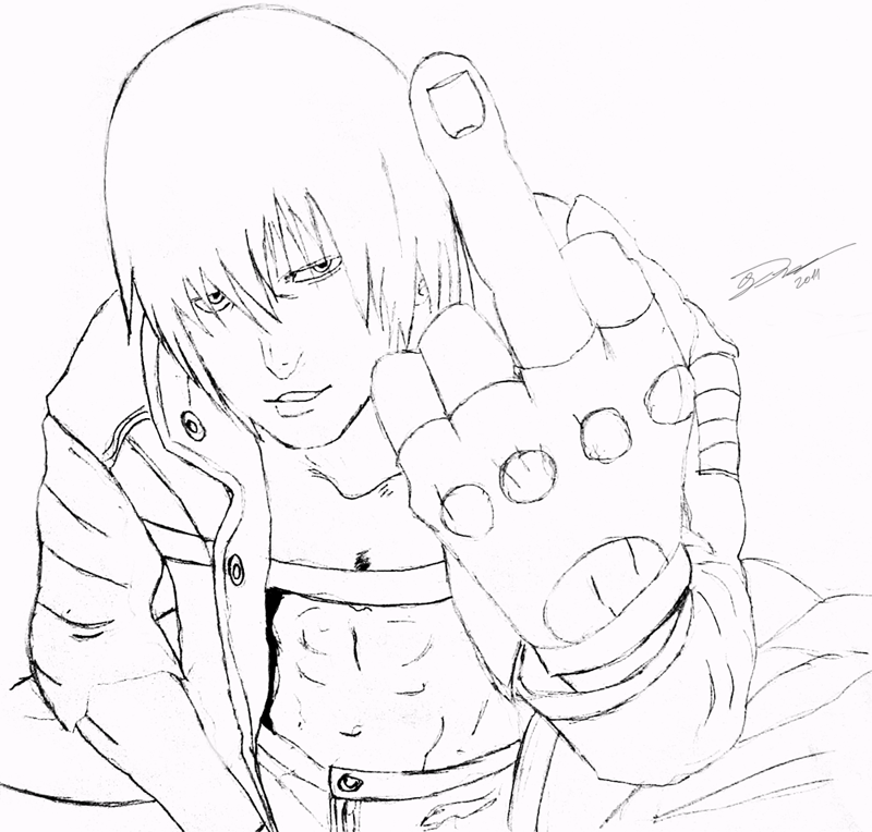 devil may cry coloring pages - photo#44