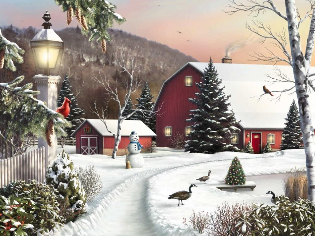 country christmas images - photo #8