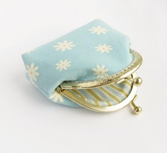 голубой кошелек, sewing